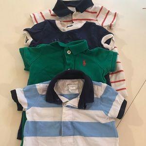 Boy Polo & GAP Romper Bundle